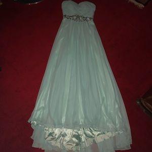 Dresses & Skirts - Mint Green Jasz Couture 5668 Prom Dress Size 6